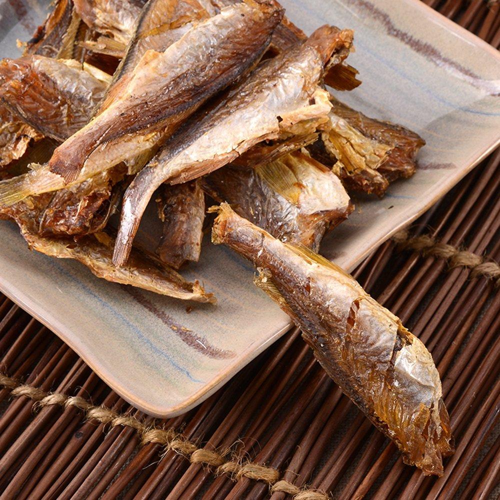 海邊人 香酥小黃花魚干150g青島特產 海鮮海魚干貨海味休閑零食
