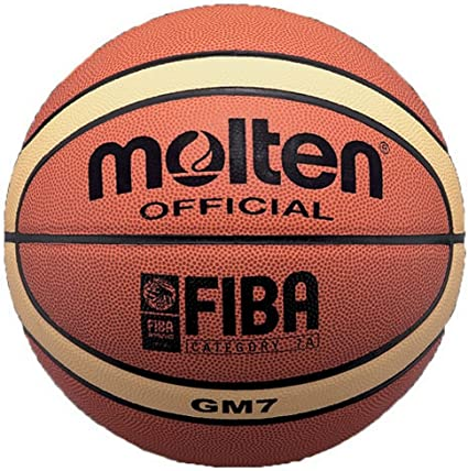 MOLTEN BGM7 - Balón de Baloncesto (Talla 7), Color Naranja: Amazon ...