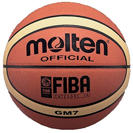 MOLTEN BGM7 - Balón de Baloncesto (Talla 7), Color Naranja: Amazon ...
