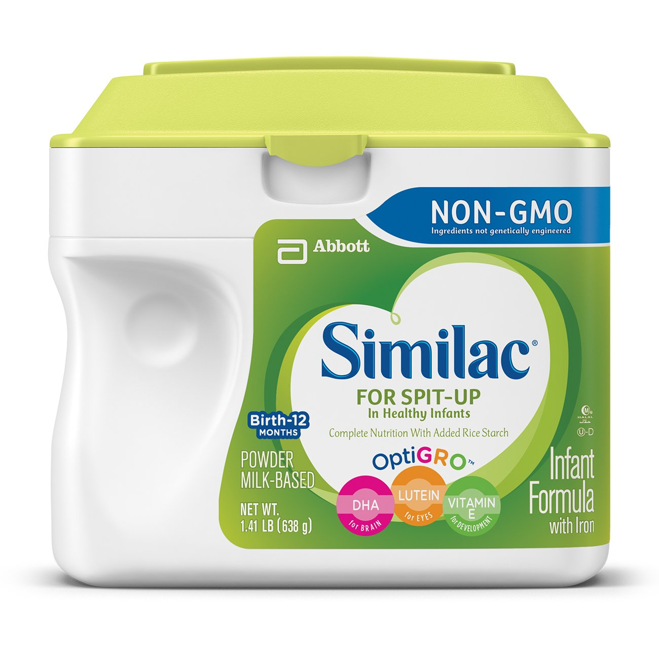 Similac for Spit Up Infant Formula with Iron, With Rice Starch, Baby Formula, Powder, 1.41 lb by Similac