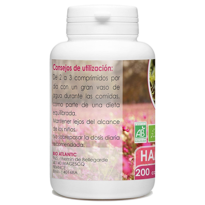 Hamamelis Organica - 200 tabletas 400 mg: Amazon.es: Salud y cuidado personal