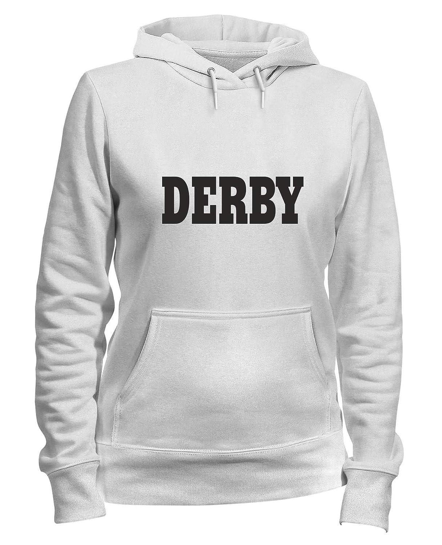 Speed Shirt Felpa Donna Cappuccio Bianca WC0717 Derby