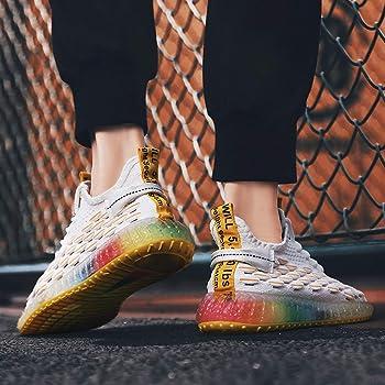 Zapatos de Hombre,ZARLLE Transpirables Zapatos Deportivos,Moda ...