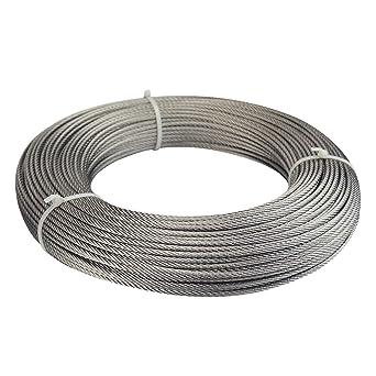 Muzata WR01 - Cuerda de alambre de acero inoxidable para ...