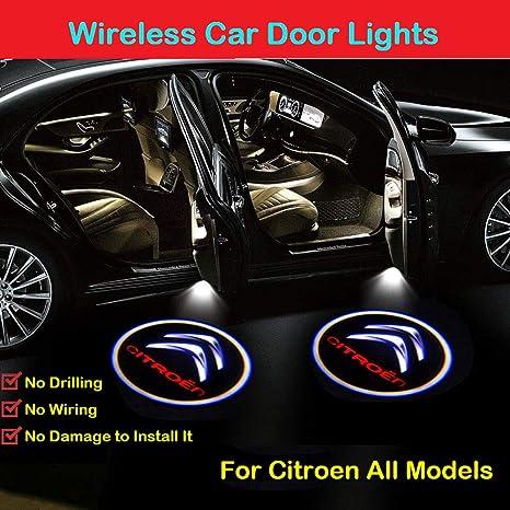 2 PC di luce per la luce di benvenuto per luci di cortesia per portiere della portiera per Mercedes-Benz. Luci di cortesia