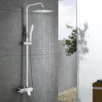 Duschsystem Regendusche Duschset mit Handbrause und Duschkopf Kopfbrause Rain