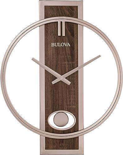 Bulova C4117 Phoenix Wall Clock