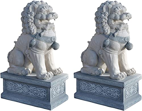 Design Toscano Giant Foo Dog of the Forbidden City Garden Statue