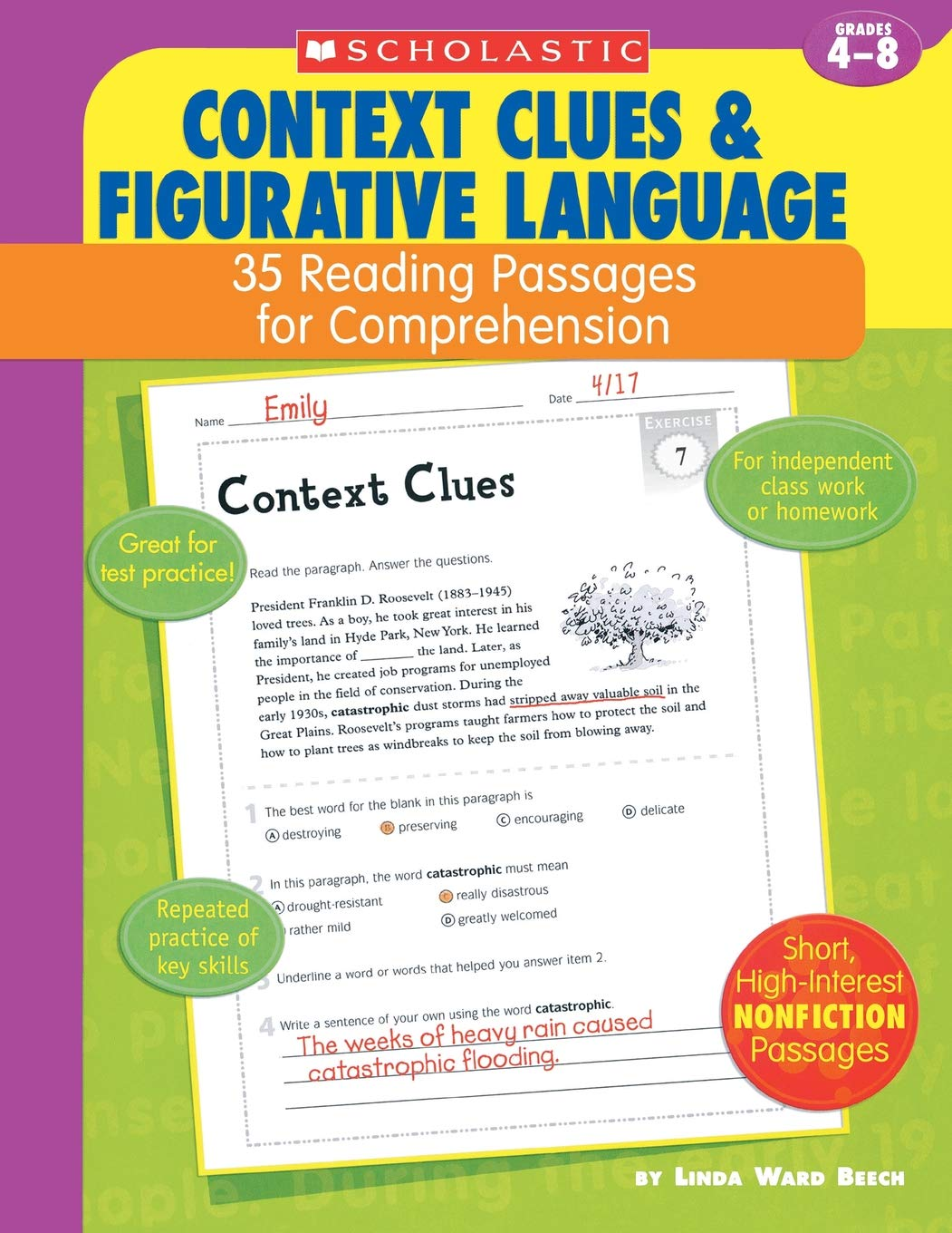 Context Clues and Figurative Language: 35 Reading Passages for
