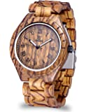 Stile Retrò Amichevole per l'ambiente epoca Handcrafted naturale di sandalo orologi da polso