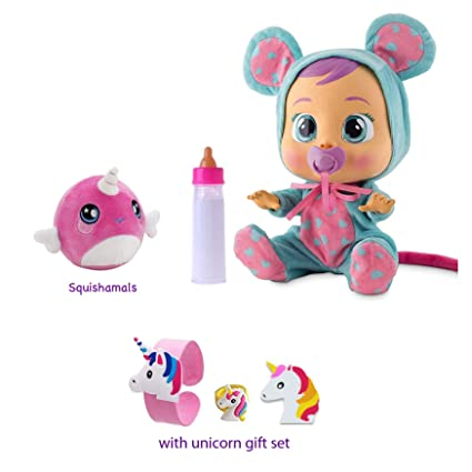 6282b6c8073 Amazon.com  Cry Babies Lala Baby Doll Gift Set  Toys   Games