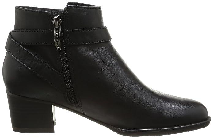 1 25354 Tamaris Eu Femme 36 black Chaussures Noir Montantes cHYaRYqdw