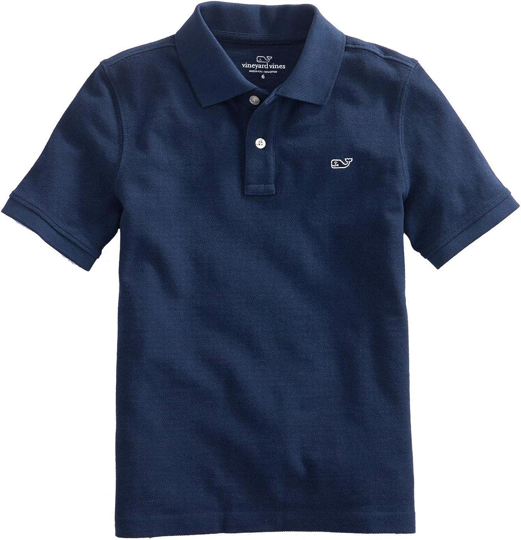 Vineyard Vines Kid's Pique Short Sleeve Polo