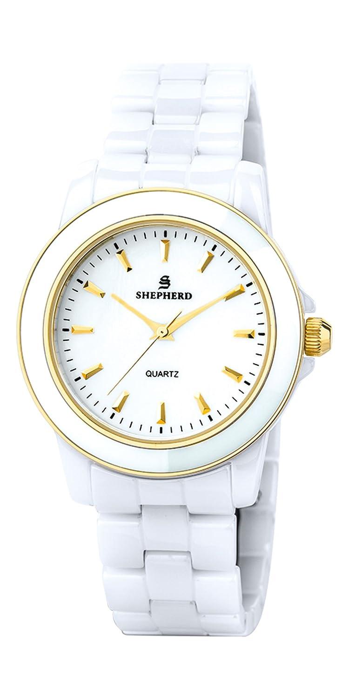 SHEPHERD Keramik Damen Armbanduhr 60232