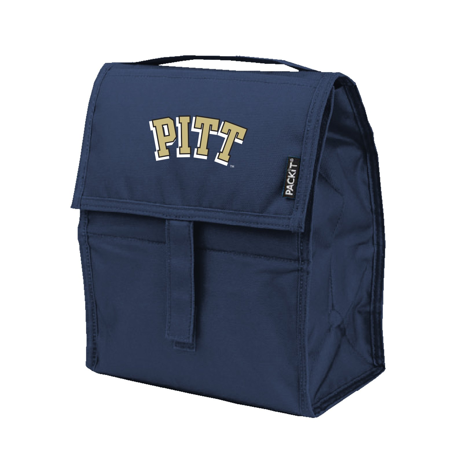 Kolder NCAA Pittsburgh Panthers Packit Freezable Lunch Bag, Blue