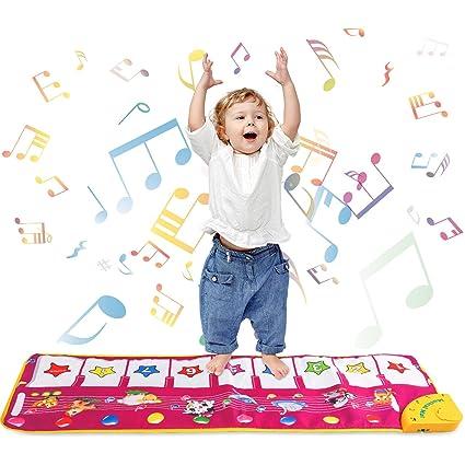 Shayson Tapis Musical Bebe Tapis De Musique Piano Bebe Education Precoce Piano Jouets Tapis De Piano Musical Instrument Pour Enfants Cadeau