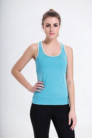 Débardeurt Fitness Femme Shirtsous Dos Yoga De Nageur Pour nOzYFwt
