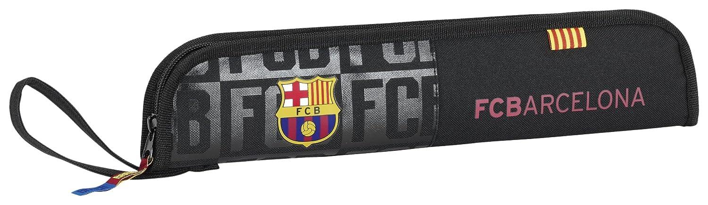 Safta Portaflautas F.C.Barcelona Black Oficial Protector Flauta 370x20x80mm 811725284