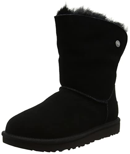 Womens UGG W Valentina Black 1012388 Snow Boots UGG Offer Sale Outlet Locations Under 70 Dollars Cheap Sale Low Price 0RMDd7hz1