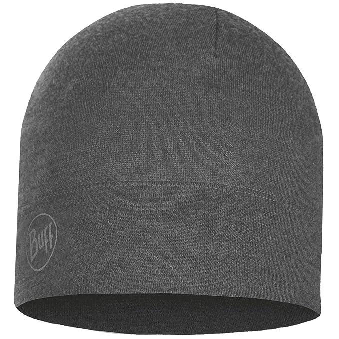 bf3e2b9ca Amazon.com: BUFF Unisex Midweight Merino Wool Hat, Light Grey ...