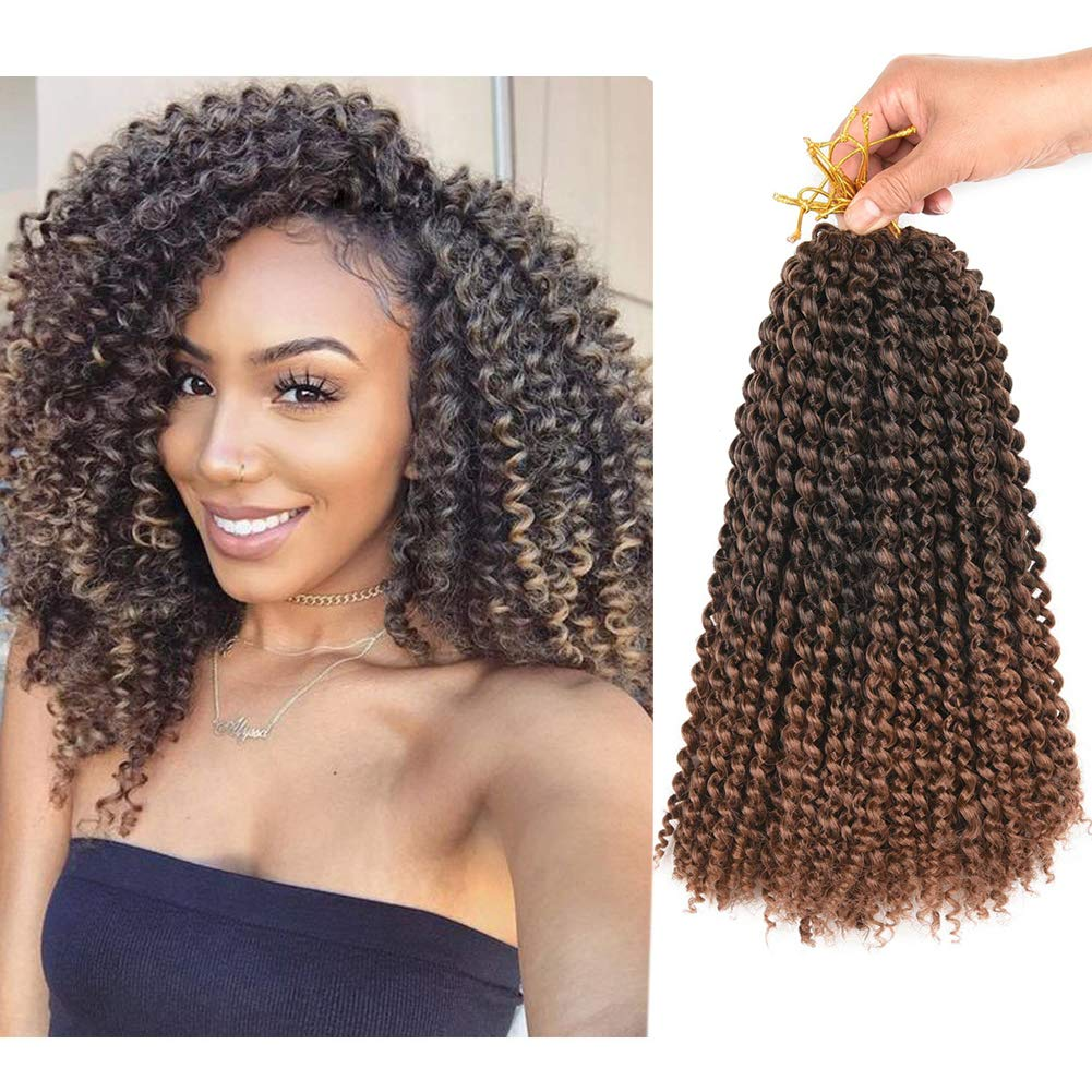 Amazon Com Refined Hair Passion Twist Hair 12inch 6packs Lot Ombre Malibob Jerry Curly Twist Hair 22 Strands Synthetic Crochet Braids Freetress Braiding Hair Extensions 12 Inch T30 Beauty