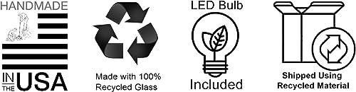 Bicycle Glass Lunar Single Pendant Light Form NO. 767