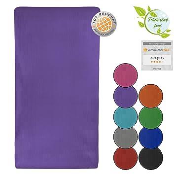 BB Sport - Esterilla de yoga (190 x 100 x 1,5 cm)