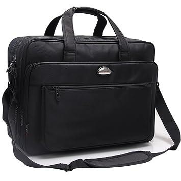 design de qualité e171e fdedd KAXIDY Sac Ordinateur Portable 17 pouces Homme Sac ...