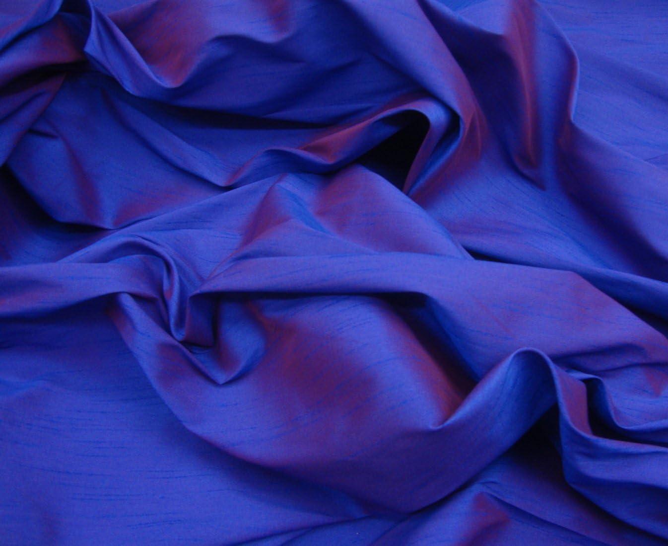 Silk Faux Fake Shantung Dupioni White Fabric drapery wedding sold 5 Yards