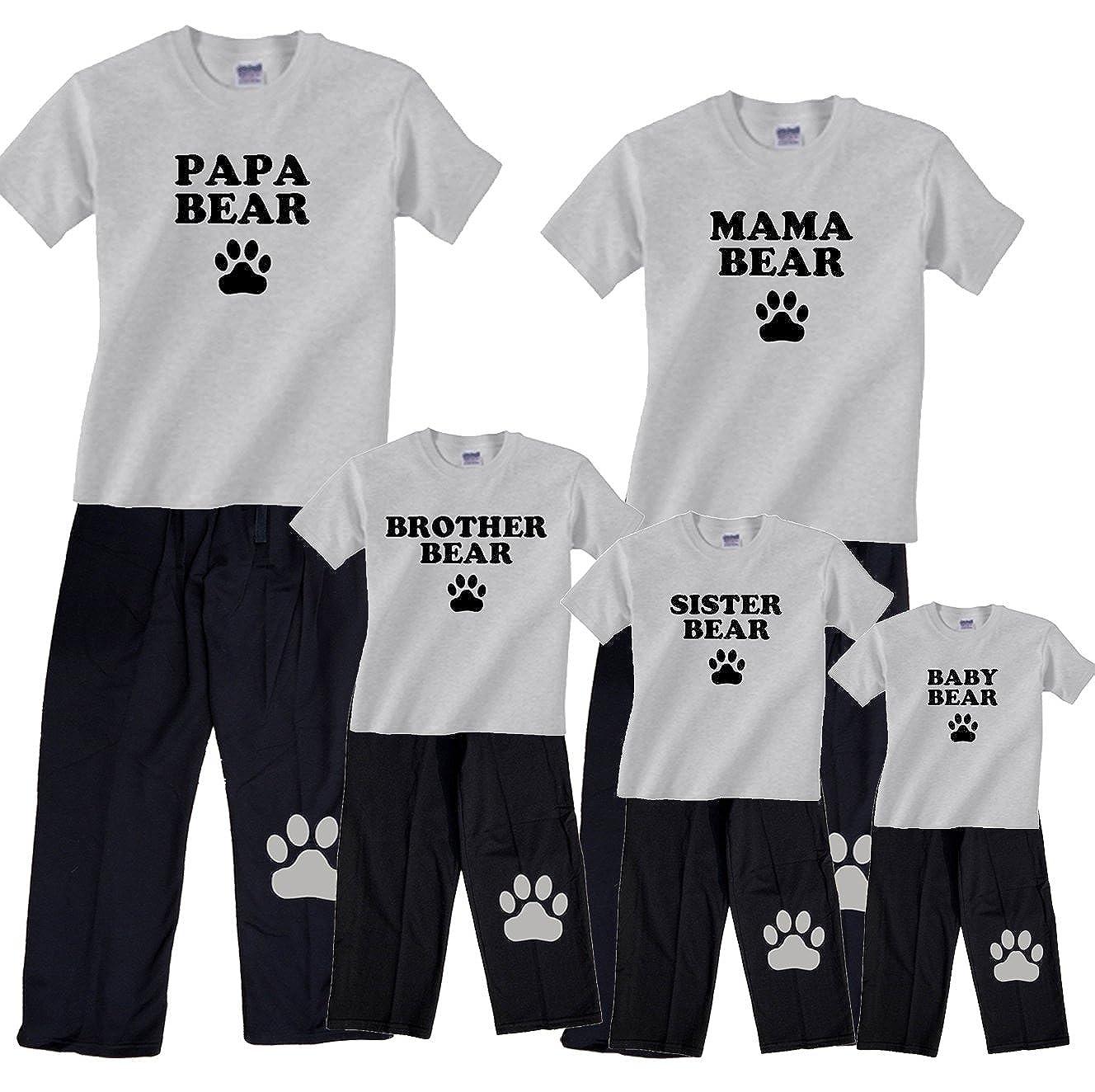 4ec0d5f7c2 Amazon.com  Bear Family Matching Pajamas   Kids Clothing Sets - Mama Bear