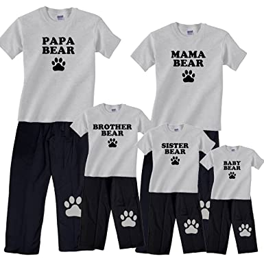 36a45e2b22 Amazon.com  Bear Family Matching Pajamas   Kids Clothing Sets - Mama ...