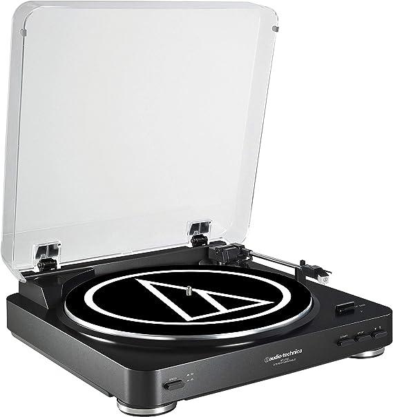 Audio-Technica AT-LP60 - Tocadiscos (Tocadiscos de tracción por ...