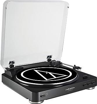 Amazon.com: Tocadiscos estéreo Audio Technica AT ...