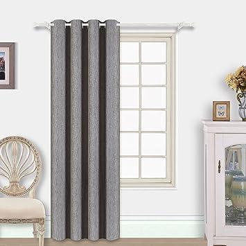 Amazon.com: Best Dreamcity Blackout Curtains 1 Panel Grommet Top ...