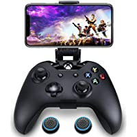 Anfiner Foldable Mobile Phone Holder/Smartphone Clamp/Game Clip Fit For Microsoft Xbox One/Xbox One S/Xbox One X/Steelseries Nimbus gameapd Wireless Bluetooth Controllers
