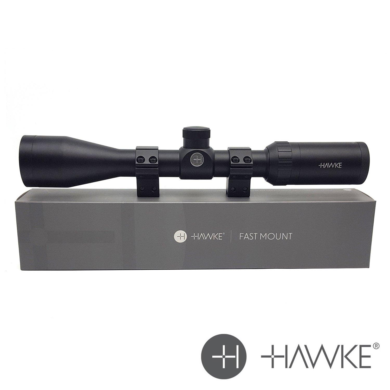Hawke 'Rápido Montaje' 3-9x40: Mil-Dot Alcance del rifle con soportes 11321 - NUEVO 2018