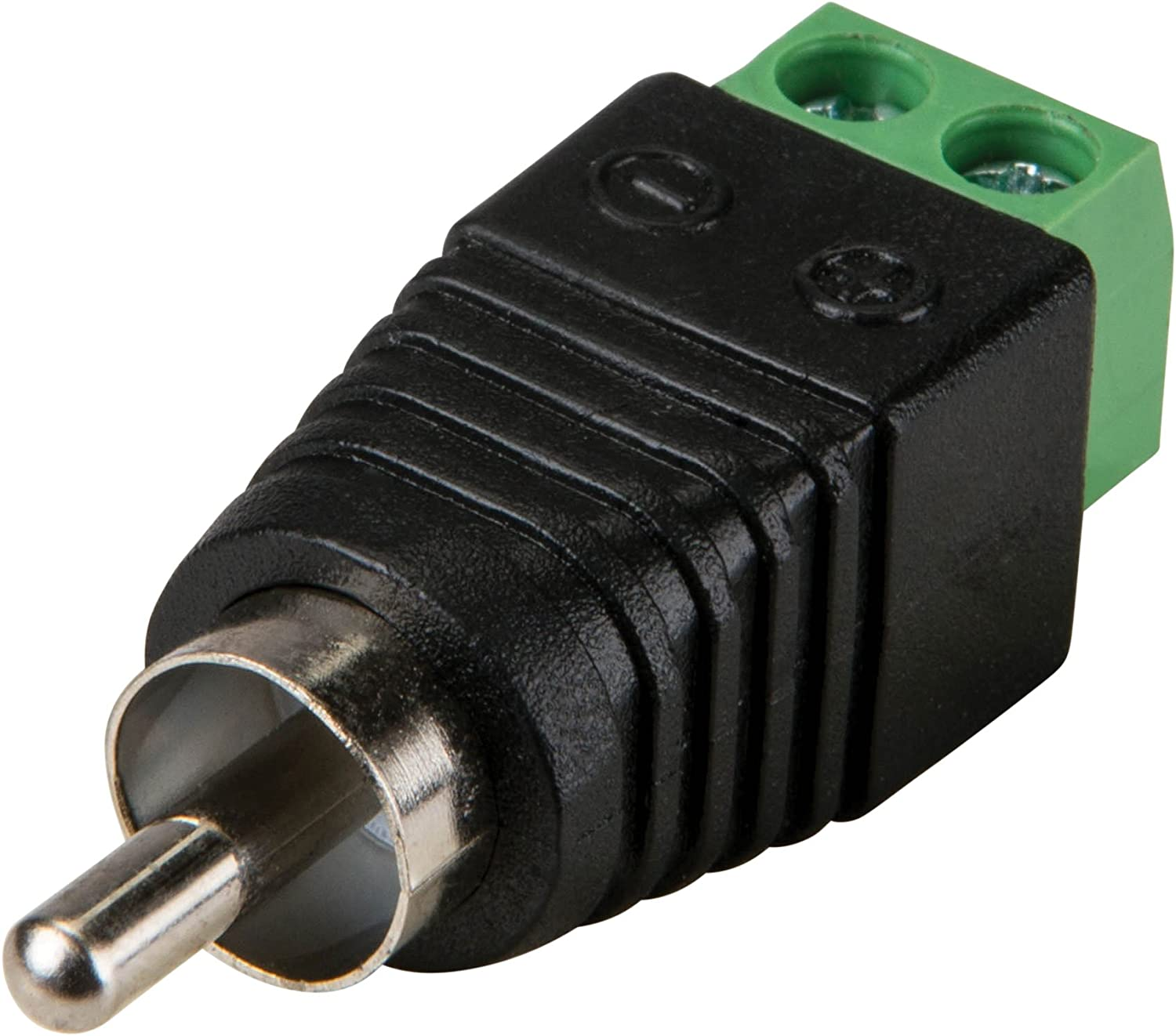 Parts Express RCA Male to Screw Terminal Connector