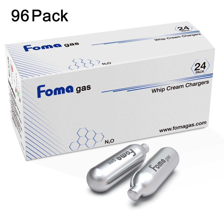 Foma Gas N2O Nitrous Oxide 8-Gram Cartridge (96 Pack)