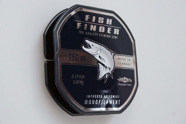 Mikado Angelschnur Fish Finder monofile 0,14-0,40mm Spule 150m sehr stark !