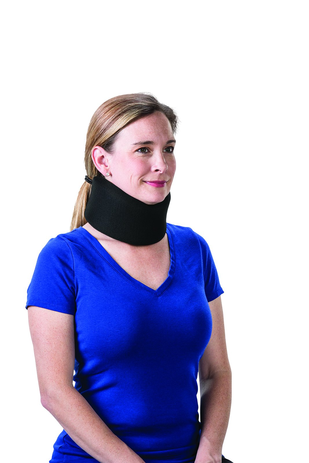 Core Products Foam Cervical Collar Universal - 2'', Black