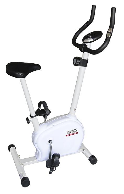HIGH POWER Bicicleta Estática HPBKMAGPOWER Blanco/Negro/Acero ...