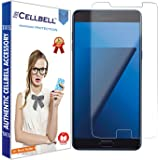 CELLBELL Tempered Glass for Samsung Galaxy C7 Pro (Transparent)