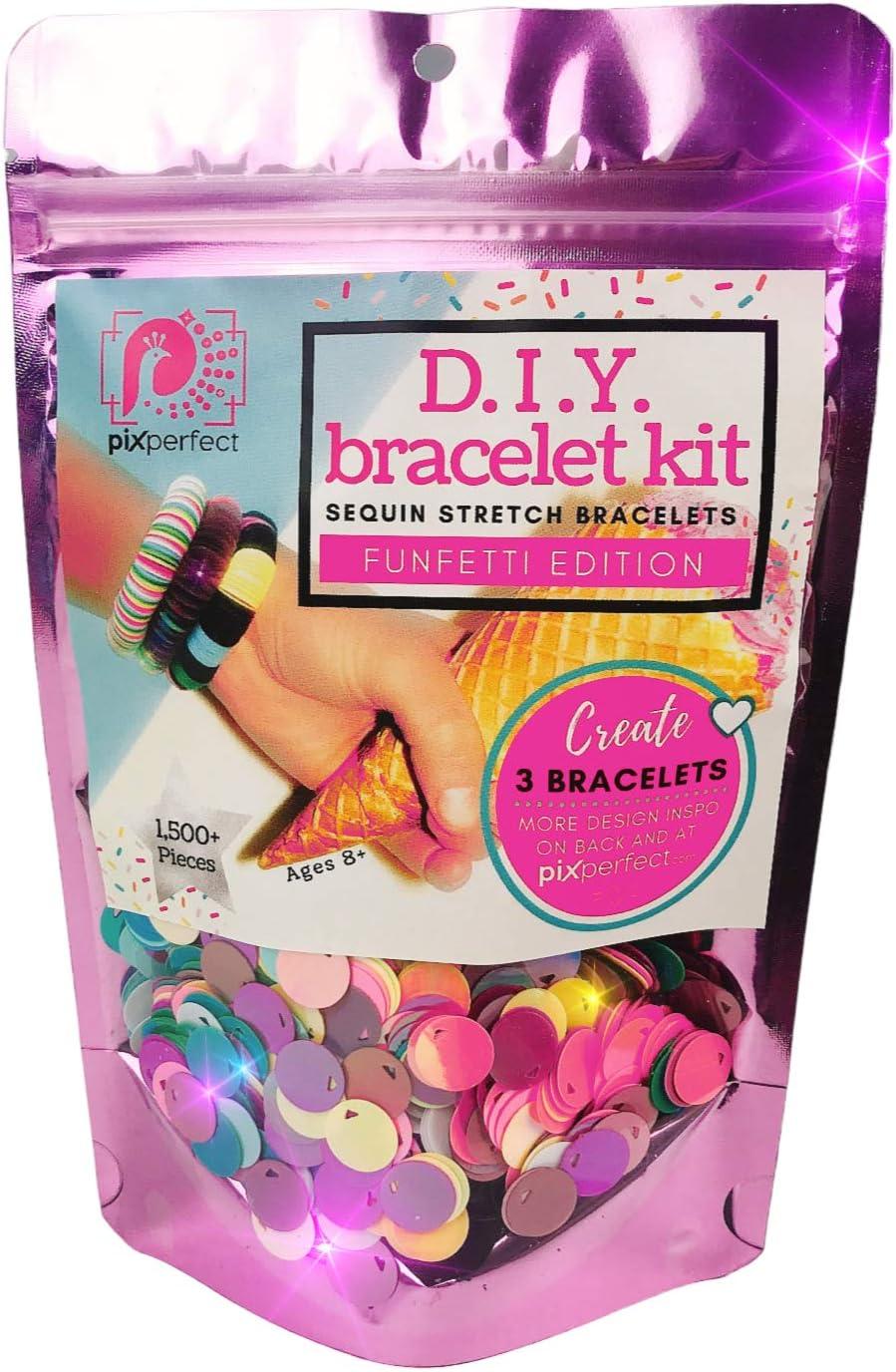 RosaPink bracelets DIY Kit Birthday Party 7 sets