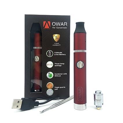 ATMAN® OWAR Electronico Vaporizador para cera/Concentrado/hash, el poderoso vaporizador equipado
