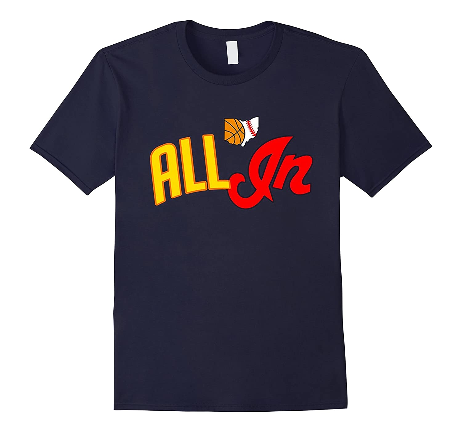 ALL IN With The Tribe Cleveland T Shirt-BN