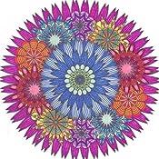 Amazon Coloring Flower Mandalas 30 Hand Drawn Designs For