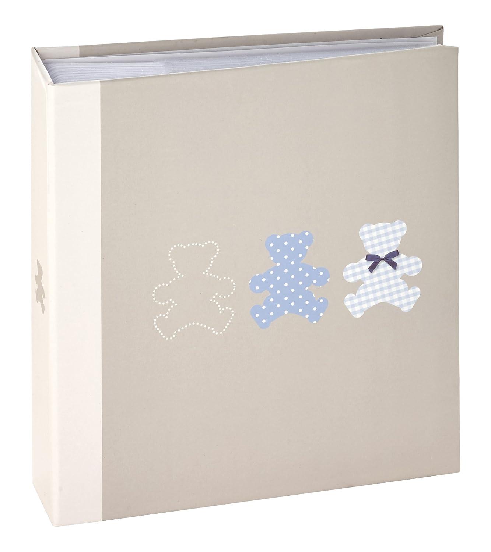 Ceanothe 271223 Timotee Album Photos Bébé avec 200 Vues Papier Gris 11, 5 x 15 cm HIPSING