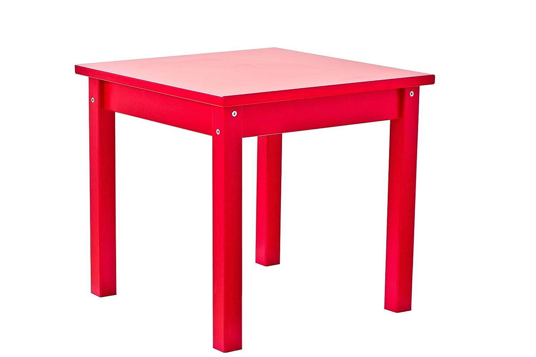 Hoppekids MDF Mads tavolo per bambini, in legno, rosso MADS Children table