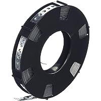 DON QUICHOTTE Gattape 12 mm verzinkt 10 meter op een rol in plastic doos, 1 stuk, 900927