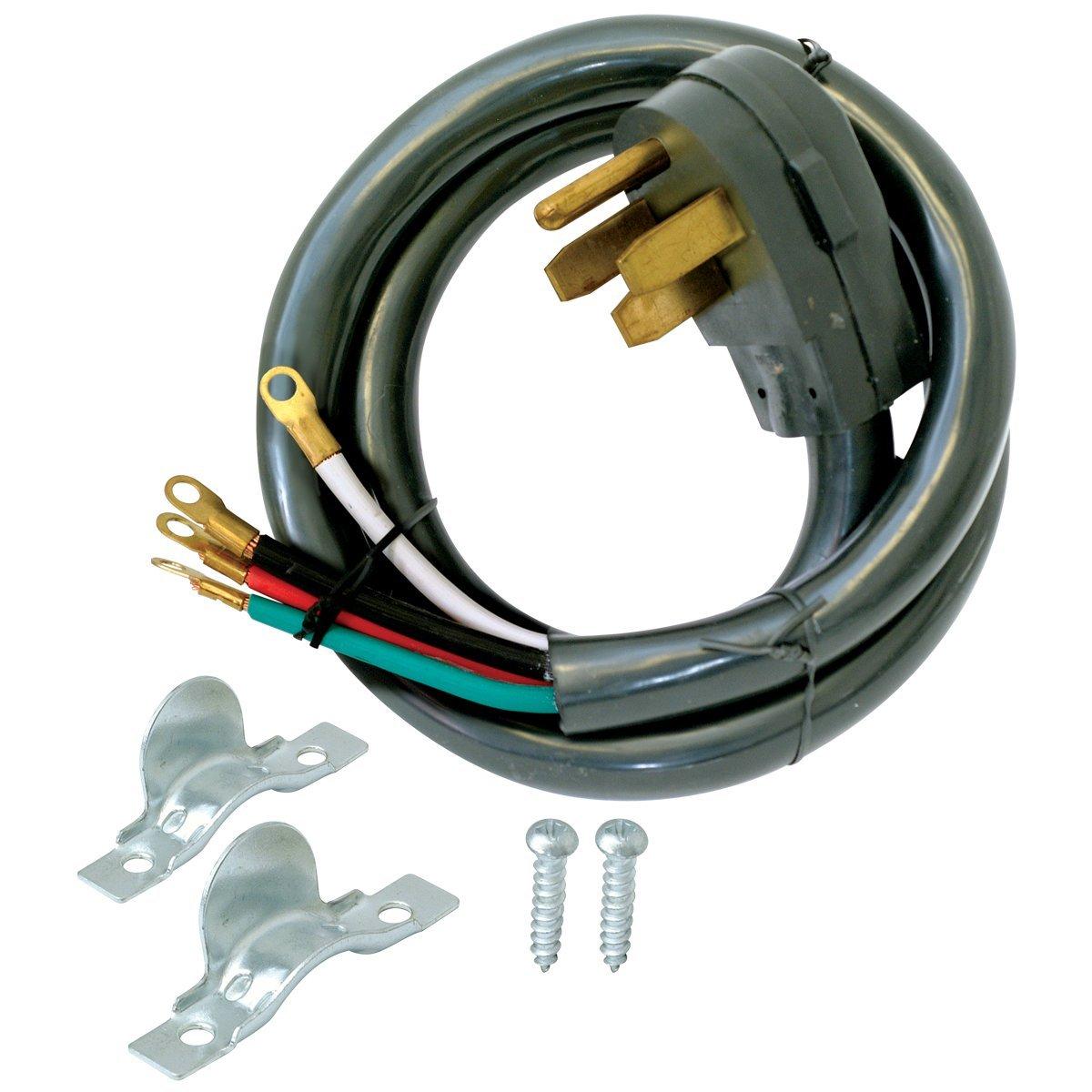 EZ-FLO 61248 4-Prong Range Cord - 50 Amp
